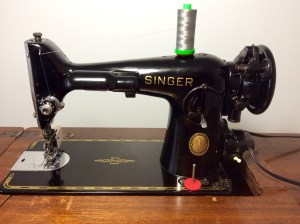 Singer 201 2 vintage sewing machine