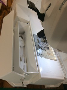 Janome 7700 qcp sewing machine storage 2