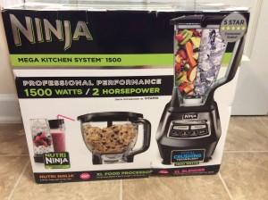 Ninja 1500 watt mega kitchen system box blender