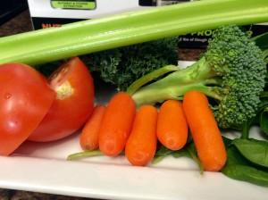 Ninja 1500 watt mega kitchen system box blender raw vegetables