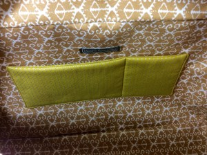 Noodlehead cargo duffle pattern bag lining