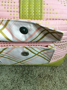 noodlehead cargo duffle bag pattern snap pocket front