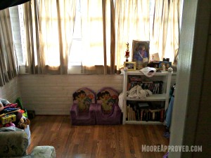 Moore Approved St Petersburg House Front Room Before