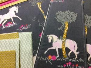 Fantasia art gallery fabrics sew sweetness sara lawson tudor bag in progress side pieces