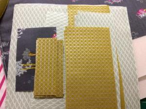 Fantasia art gallery fabrics sew sweetness sara lawson tudor bag in progress lots of pieces