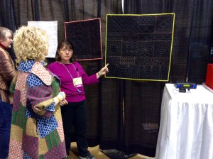 Original Sewing and Quilting Expo Atlanta Gwinnett Center wide Handi Quilter studio machines sweet sixteen instructor mary beth krapil