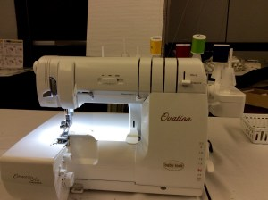 Original Sewing and Quilting Expo Atlanta Gwinnett Center BabyLock Ovation Serger machine