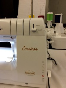 Original Sewing and Quilting Expo Atlanta Gwinnett Center BabyLock Ovation Serger machine right side