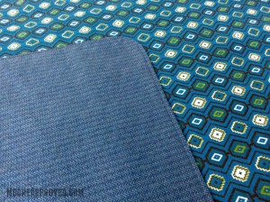 Moore Approved Connecting Threads Flannel Blue Blanket Folded