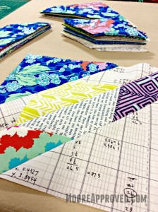 Fabric Amy Butler Violette Alison Glass Sunprint layer cake scrappy Hunters Star quilt block Carolyn Friedlander Architextures