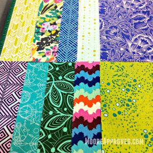 Fabric Amy Butler Violette Alison Glass Sunprint layer cake