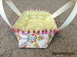 Moore Approved On The Go Fabric Basket Wonder Clips Holding Seams Together
