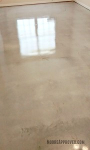 Workshop Progress Concrete Floor Maintainer tool rental clean home depot moore approved sealer wax application finished