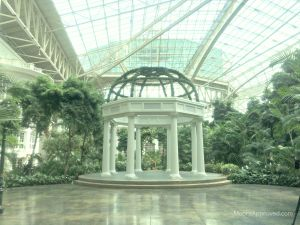 Gaylord Opryland Resort Hotel Nashville Atrium Gazebo Scenery Greenery