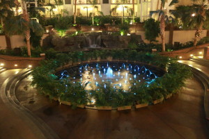 Gaylord Opryland Resort Nashville Light Fountains Night
