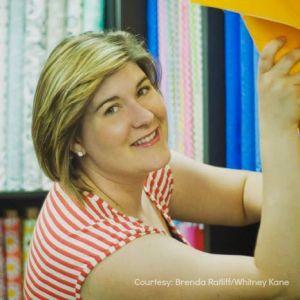 Pink Castle Fabrics Owner Brenda Ratliff