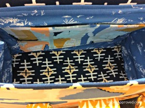 Moore Approved Bound Challenge Art Gallery Fabrics April Rhodes Swoon Patterns Nora Doctor Bag Gold Hardware Interior Slip Pockets