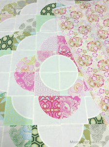 Moore Approved Medallion Quilt Quilters Mixology Amy Butler Midwest Modern fabric Anna Maria Horner Baby Bouquet voile backing