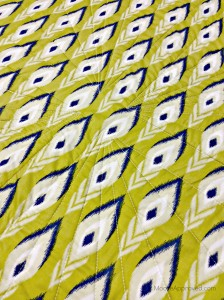 Moore Approved Scrappy Hunters Star Quilt Modern Free Spirit Voile backing close quilting