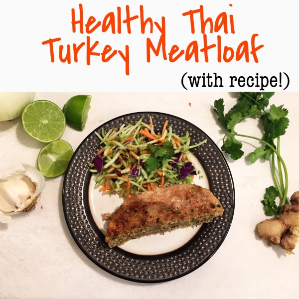 Healthy Thai Turkey Meatloaf Recipe