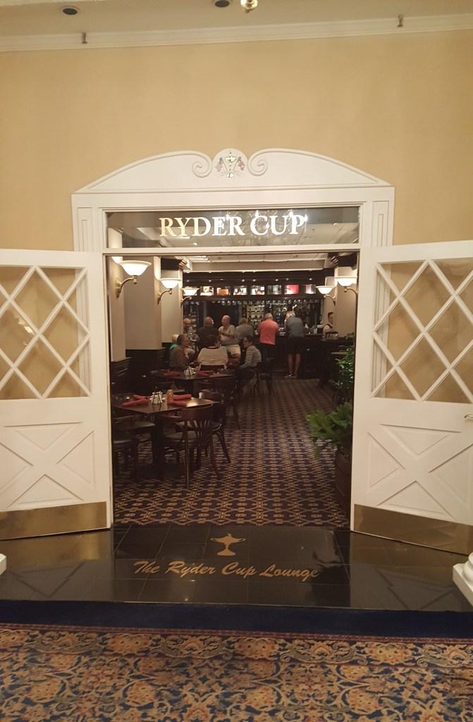 ryder cup entrance