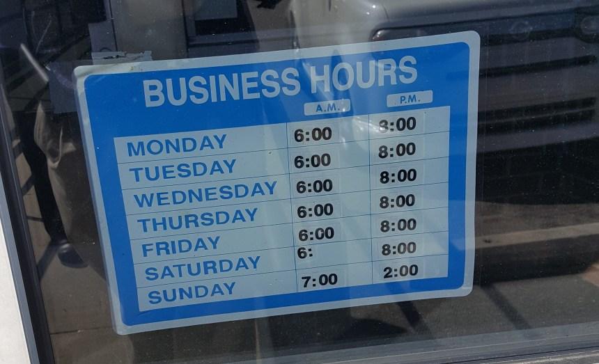 Miller's Family Restaurant hours