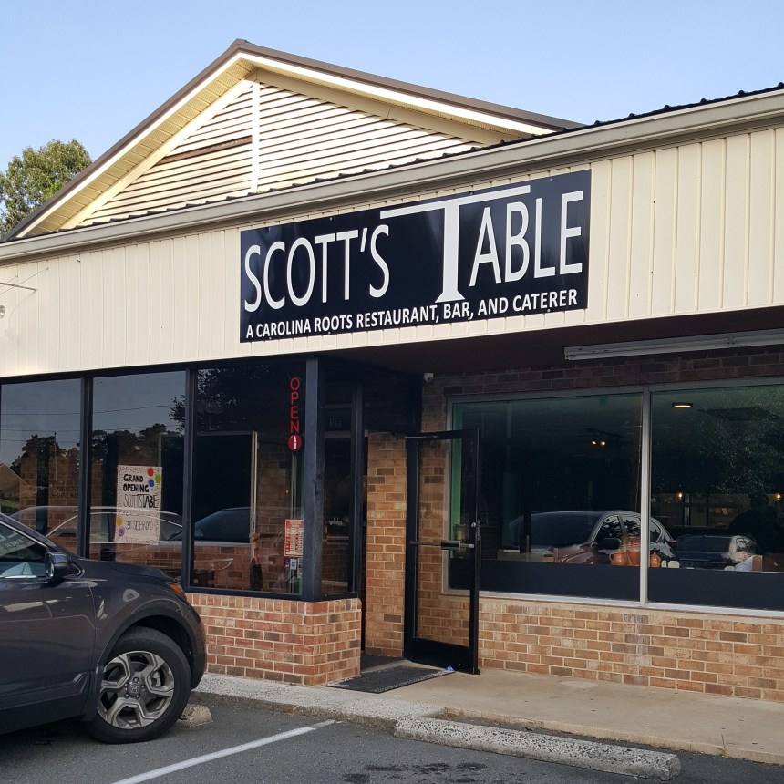 scott's table exterior