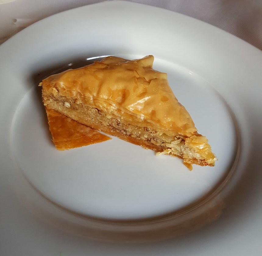 Theo's Taverna dessert