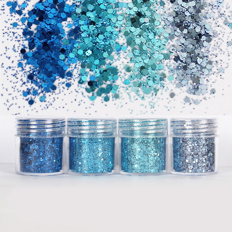 Holographic Glitter Powder Shining sequins Glitter Hot Sale Dust Powder for Art Decorations and DIY TJ1215