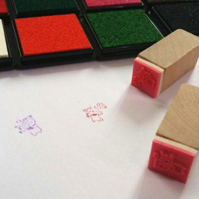 Oil Based Stamp Ink Pads for Scrapbook and Crafting