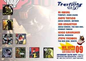 2000AD Signing @ Travelling Man Manchester on September 26th