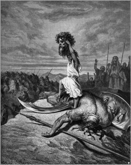 Gustave Doré - David and Goliath (1866)