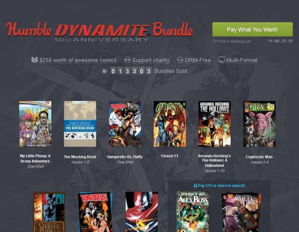 Humble Dynamite 10th Anniversary Bundle (pay what you want and help charity)