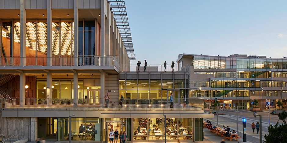 Student Community Center, University of California ...