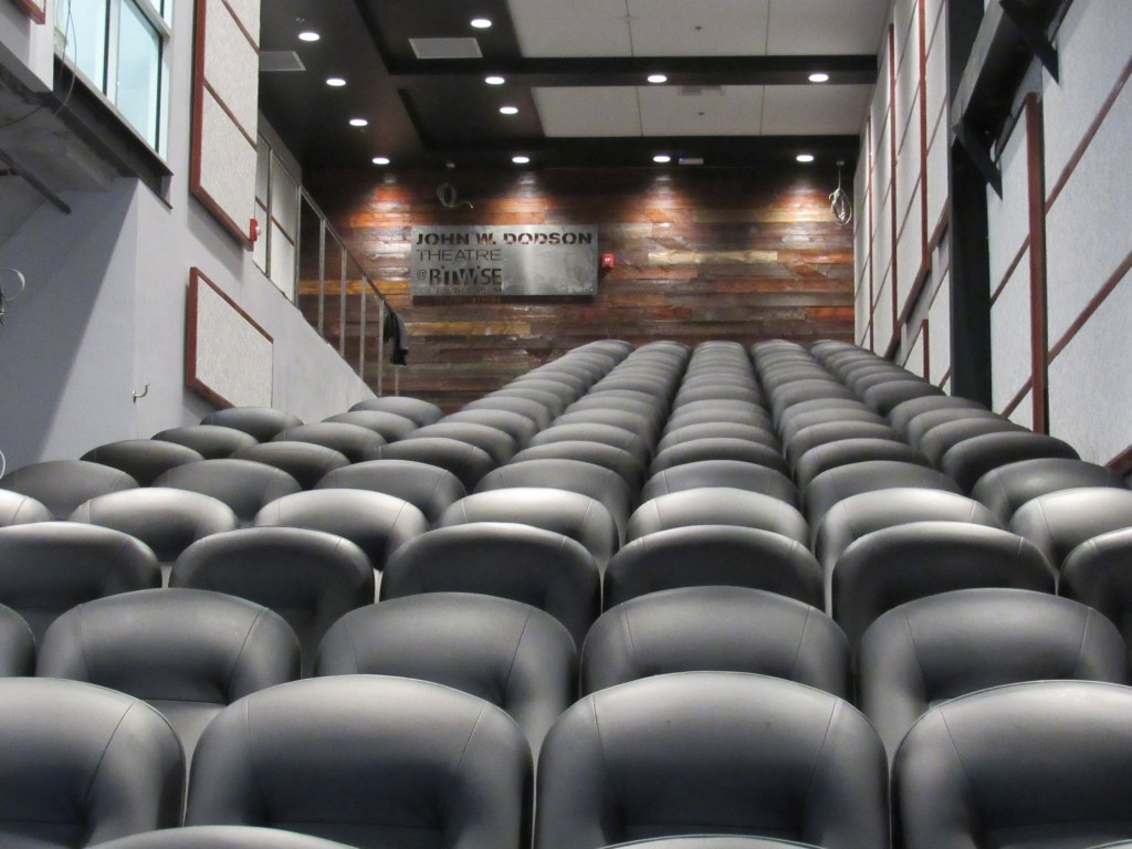 Photo of John W. Dodson theatre inside Bitwise South Stadium.