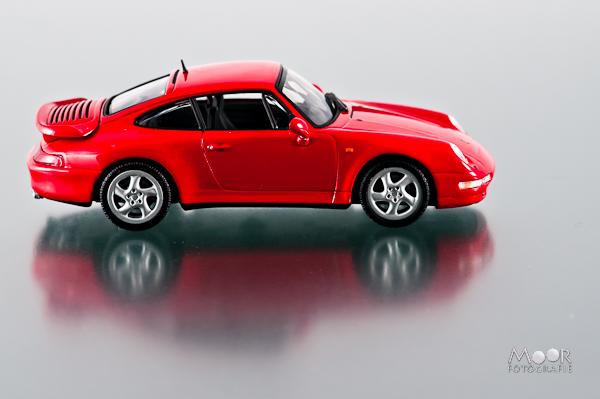 Fotograferen met een Lichttent Porsche