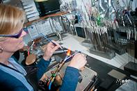 Fotoshoot Westwood Creations Werkendam Glaskralen Branden
