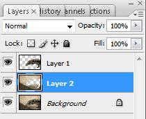Photoshop Tip Lagen Selecteren