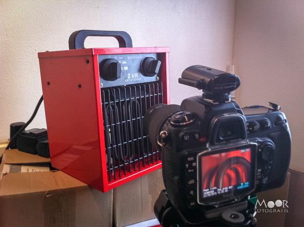 Project 52 Weken Week 42 Warmte Setup