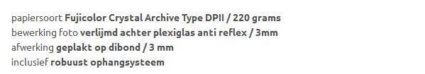 Review Plexiglas Anti Reflex van Gallery Color