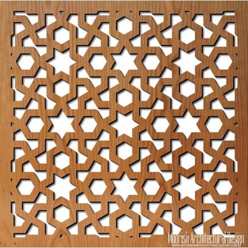 Jali Screen Moroccan Decorative Screens Geometric Wood