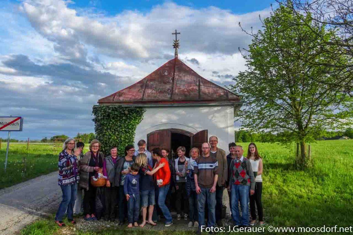 """Die Mühlbach-Kapelle der Familie Vogl (""""Weikert"""")"""