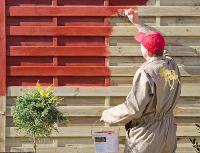 Geimpregneerd hout verven geimpregneerd hout beitsen