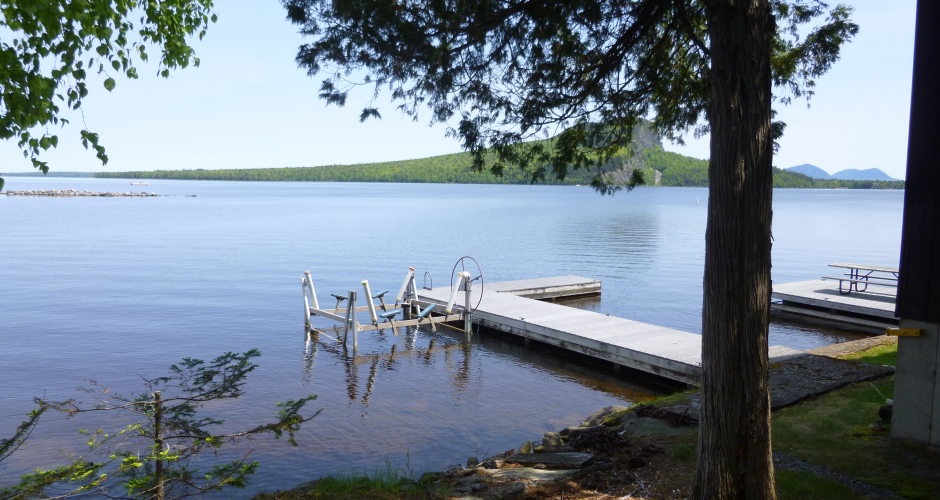 Free Dock on Moosehead Lake