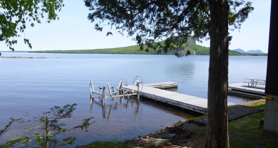 Free Dock on Moosehead Lake