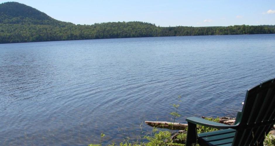 Rustic Cabin Water View