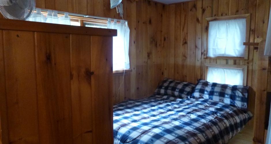 Highlands Camp Queen Bed