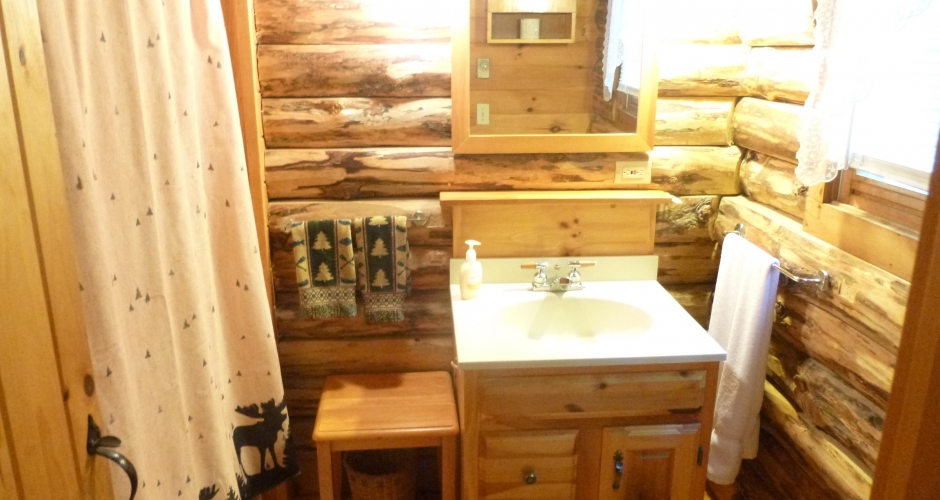 Loon Landing Main Bathroom