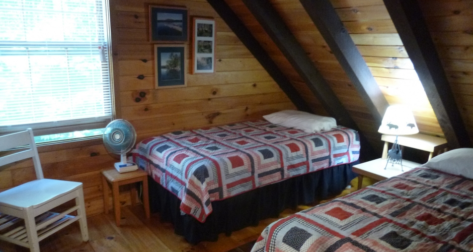 Loon Landing Upstairs Twin Bedroom