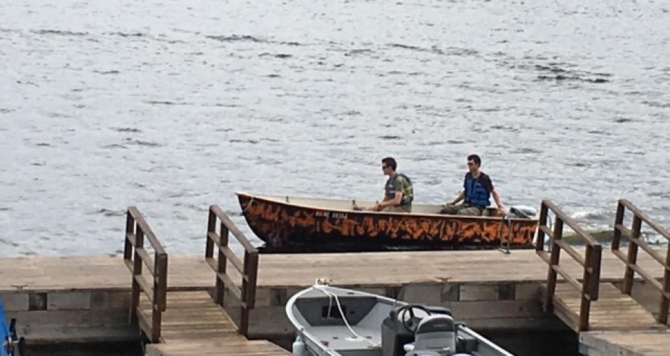 Boating at Rockwood Cottages